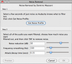 How to Remove Noise with Audacity – TAP012