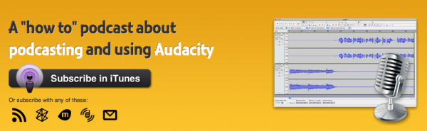The Audacity to Podcast™'s feature widget