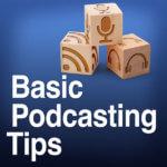 Basic Podcasting Tips podcast album art