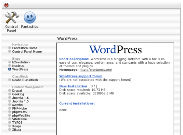 how to create a wordpress website with cpanel