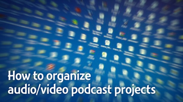 How to organize Audacity, Audition, Premiere Pro, Final Cut Pro, Vegas Video projects