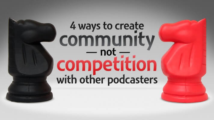 Podcast community in rivalry