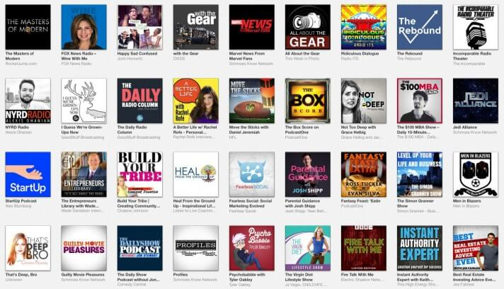 iTunes New and Noteworthy Podcast Cover Art