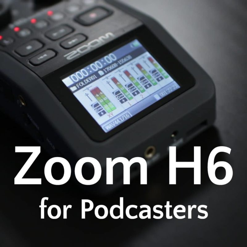 Zoom-H6-for-Podcasters-Course-square-800