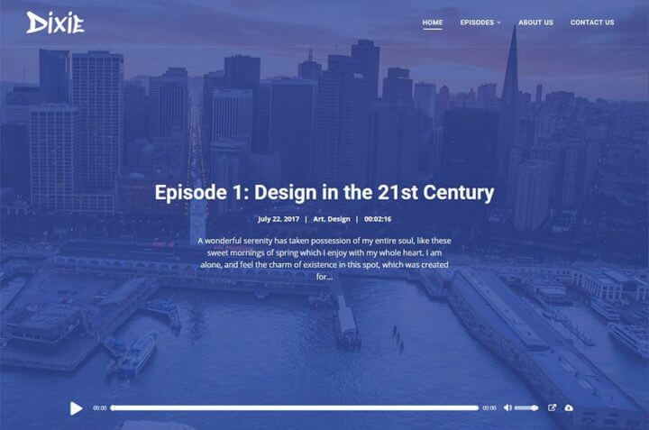 the best wordpress themes for podcasters